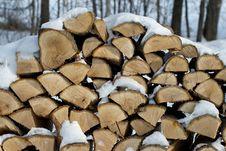 Free Stacked Firewood Stock Photos - 29906503
