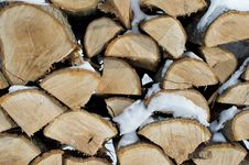 Free Oak Firewood Stock Photography - 29906522