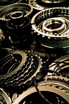 Free Automobile Gear Assembly Stock Photography - 29908752