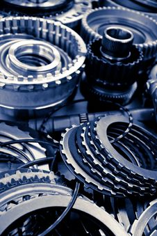 Free Automobile Gear Assembly Royalty Free Stock Image - 29908756
