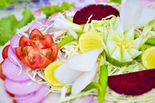 Free Green Mixed Vagetables Salad Indian Stock Photos - 29909033