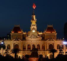 Free Saigon Hotel De Ville Stock Photos - 29909333