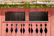 Free Background Old  House And Door Royalty Free Stock Images - 29913819