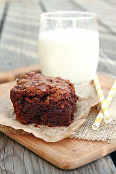 Free Big Fat Brownies Stock Photo - 29917050