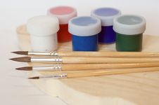 Free Brushes And Paints. Stock Photos - 29918093