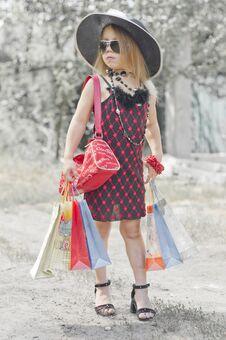 Free Fashion Girl Stock Photography - 29918502