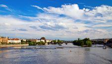 Free Vltava River In Prague Stock Photo - 29919480