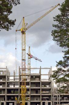 Free Construction Crane. Stock Photo - 29919600