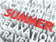 Summer Concept. Royalty Free Stock Photo