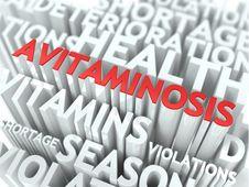 Avitaminosis Concept. Royalty Free Stock Photos