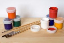 Free Brushes And Paints. Royalty Free Stock Image - 29919796