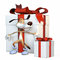 Free The Dog Protects Gifts. Royalty Free Stock Photo - 29919915