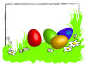 Free Funny Happy Easter Frame Royalty Free Stock Photo - 29923225