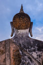 Free Detail Of Head Of Stone Statue Of Sitting Buddha In Sukhothai Hi Royalty Free Stock Photography - 29925677