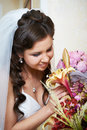 Free Happy Bride With Flowers Stock Images - 29926624