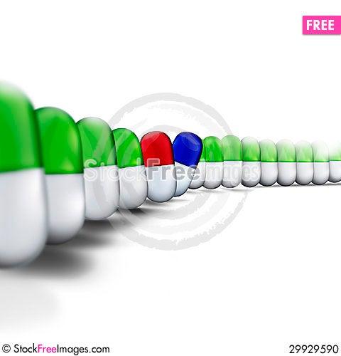 Free Medicine. Treatment Stock Photo - 29929590