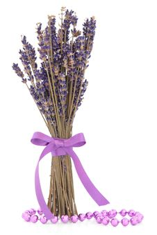 Free Lavender Herb Flowers Royalty Free Stock Images - 29922859