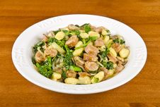 Gnocchi With Rapini And Italian Sausages 2