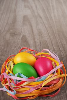 Free Multicolored Easter Eggs Royalty Free Stock Image - 29925706