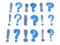 Free Exclamation And Question Marks Royalty Free Stock Images - 29932289