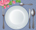 Free Celebratory Tableware Royalty Free Stock Photo - 29936835
