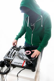 Free Club DJ Royalty Free Stock Photography - 29933257