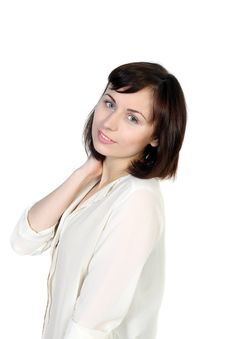 Free Portrait Of Caucasian Young Woman Royalty Free Stock Images - 29934129