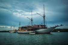 Fishing Ship Royalty Free Stock Photos