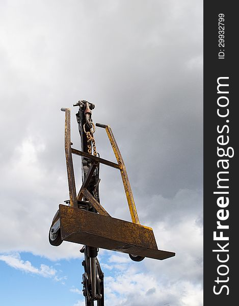 Hydraulic Cranes with hand truck