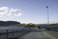 Free Bridge In Norway Stock Images - 29941634