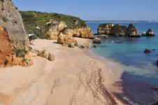 Free Praia Dona Ana, Algarve, Portugal, Europe Royalty Free Stock Photo - 29947915
