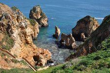 Free Praia Da Piedade, Algarve, Portugal, Europe Royalty Free Stock Photos - 29947958