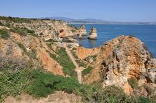 Free Praia Da Piedade, Algarve, Portugal, Europe Stock Photos - 29947983