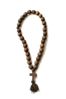 Free Wooden Rosary Stock Images - 29956244