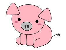 Free Pig Cartoon Stock Images - 29956364