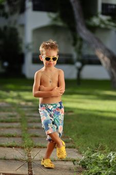 Free Young Boy Royalty Free Stock Photo - 29956955