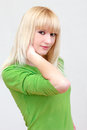 Free Lovely Blonde Smiling Girl With Long Hair Stock Photos - 29960013
