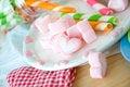Free Sweet Heart Marshmallow Royalty Free Stock Image - 29963856