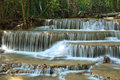 Free Multi-layered Waterfall In Thailand Royalty Free Stock Photo - 29966345