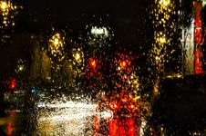 Free Rain & Lights - Abstract Royalty Free Stock Images - 29960889