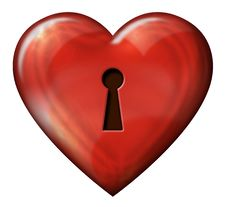 Free Heart Lock Royalty Free Stock Images - 29963959