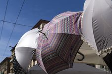 Free Colored Umbrella Stock Images - 29966264