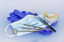 Dental Instruments Stock Photography
