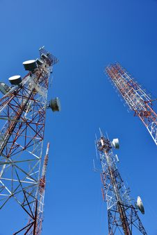 Free Telecommunication Tower Stock Images - 29970434
