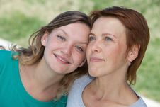 Free Mother And Daughter Stock Images - 29971754
