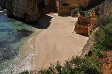Free Praia Do Cordoma, Algarve, Portugal, Europe Stock Images - 29975384
