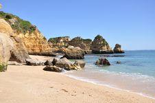 Free Praia Dona Ana, Algarve, Portugal, Europe Stock Photos - 29975403