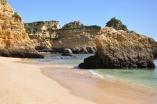 Free Praia Dona Ana, Algarve, Portugal, Europe Stock Images - 29975424