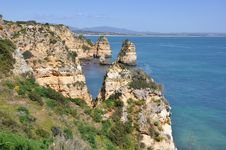 Free Praia Da Piedade, Algarve, Portugal, Europe Stock Photos - 29975483