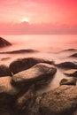 Free Sunrise At Sea Shore Royalty Free Stock Photos - 29983518